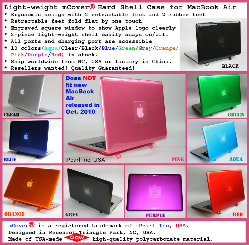 mCover for MacBook Air A1237 or A1304